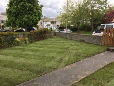 Supply & Lay Of Turf in Cornwall and Devon