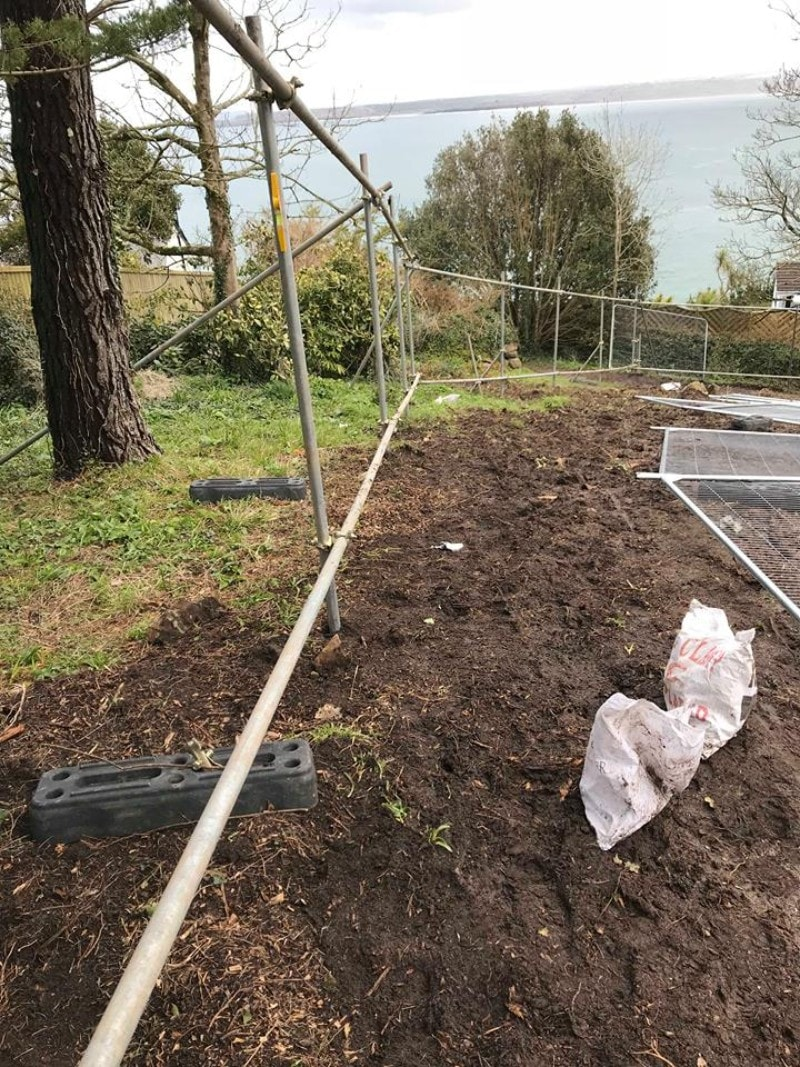 Tree Protection Fencing In Cornwall Devon Cgs Contractors Fence 8 2 Butterfly New Click To Enlarge