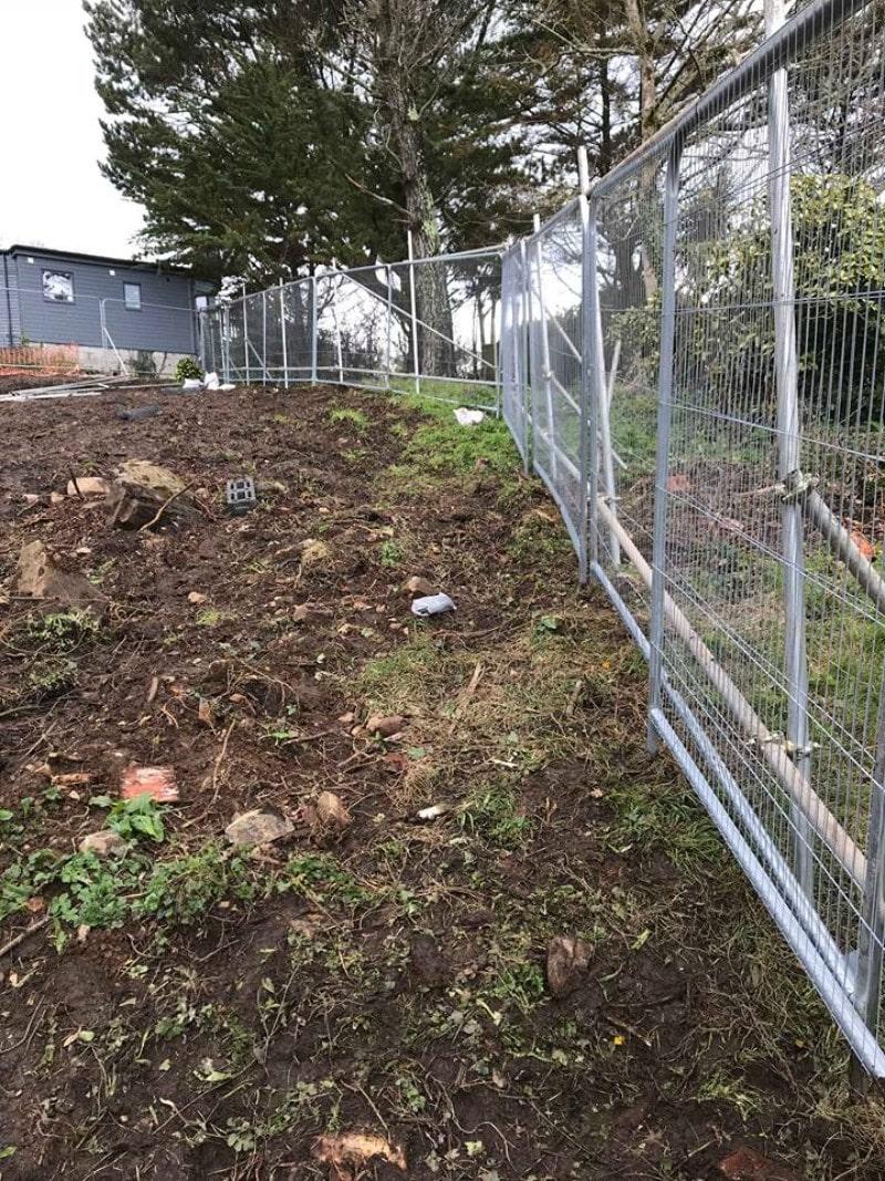 Tree Protection Fencing In Cornwall Amp Devon Cgs Contractors